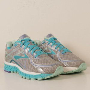 Brooks Adrenaline GTS 16 Silver Teal Running Shoes